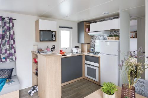 Location de vacances avec cuisine aménagée moderne